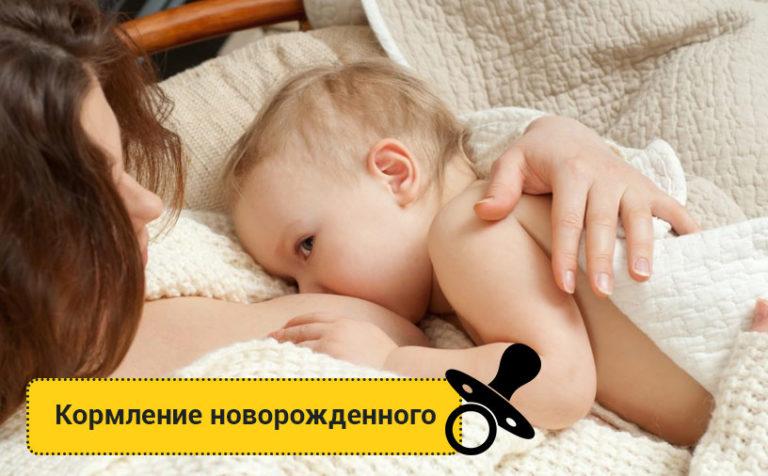 Кормление новорожденного грудным молоком и смесями: как кормить, позы для мамы, какие смеси