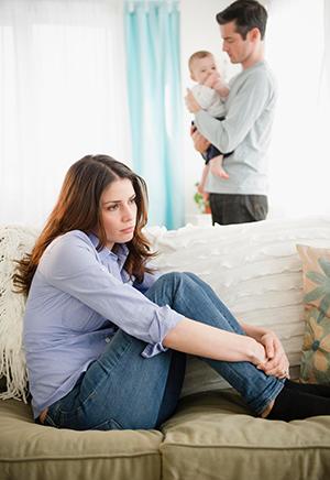 чувство тревоги после рождения малыша