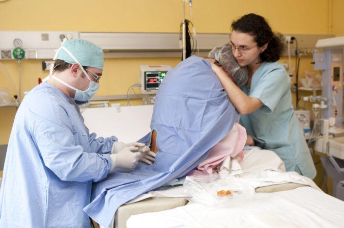 эпидуральная анастезия