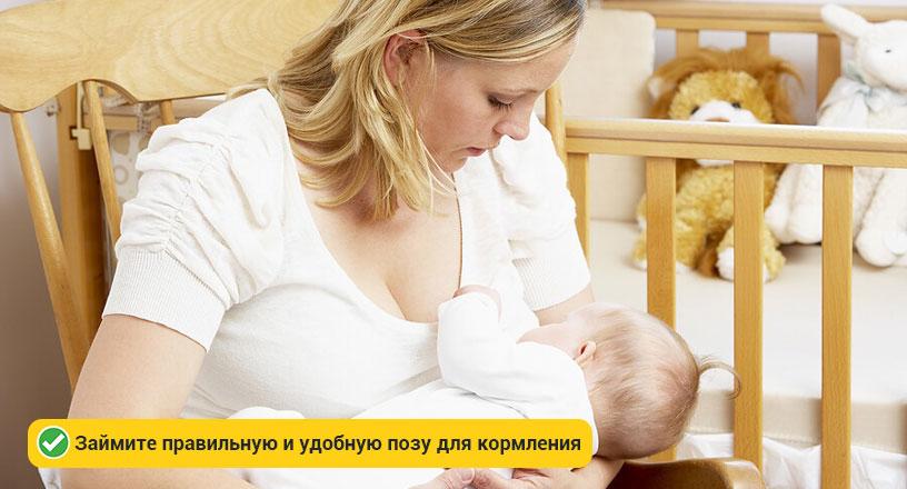 Процедура кормления новорожденного