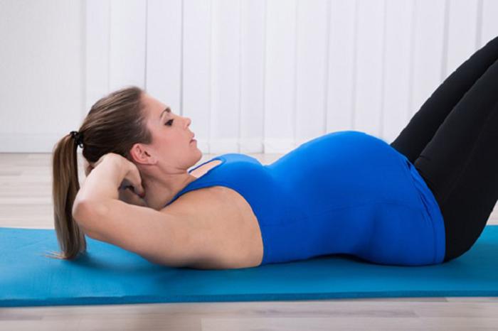 упражнения по Кегелю при беременности