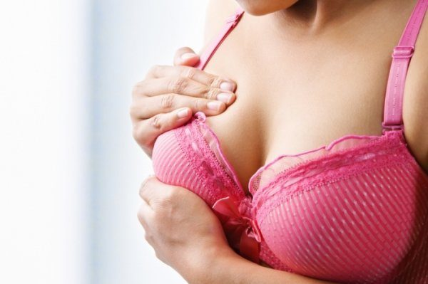 увеличение груди при беременности