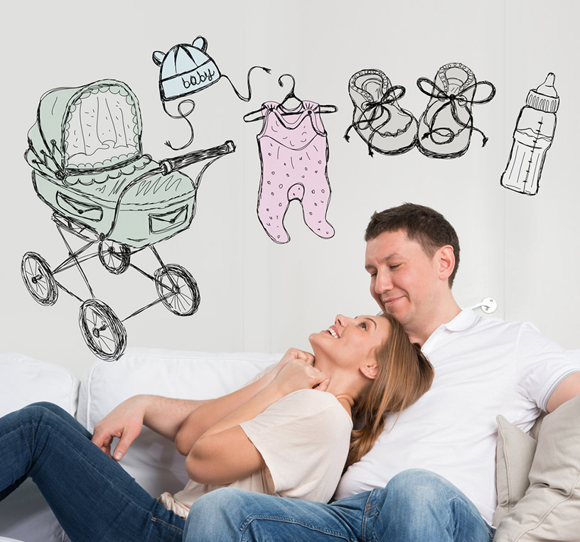 зачать ребенка через 2 месяца после родов
